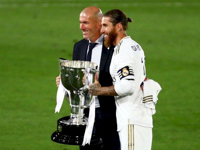 Madrid Juara LaLiga, Ramos Sanjung Zidane