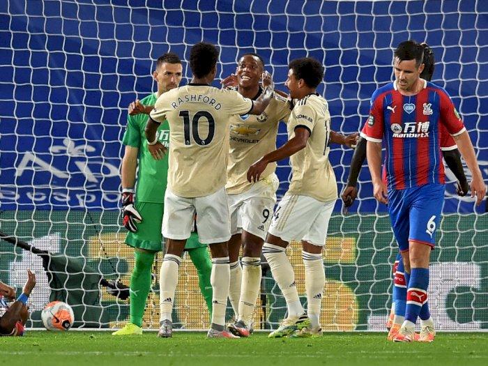 Manchester United Raih Poin Penuh di Kandang Crystal Palace