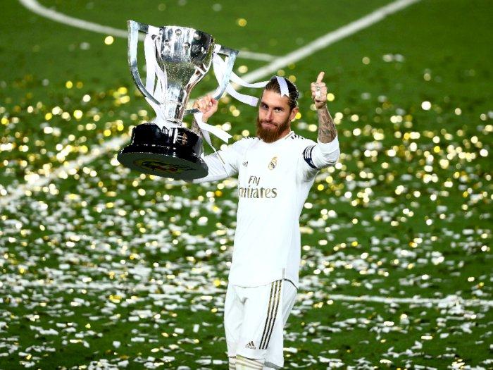 Sergio Ramos Ingin Gantung Sepatu di Madrid Usai Kembali Juarai La Liga