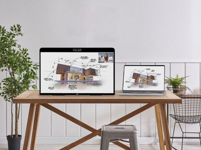 Rambah Bisnis Hardware, Zoom Rilis Tablet Berukuran Jumbo untuk Video Call