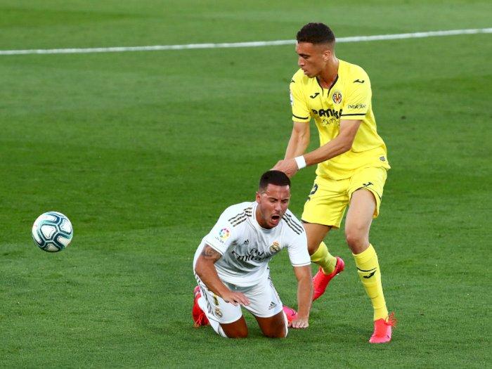 FOTO: Kalahkan Villarreal, Real Madrid Juara Liga Spanyol
