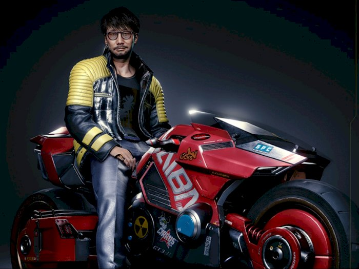 Seperti Ini Tampilan Hideo Kojima Jika Menjadi Karakter di Cyberpunk 2077!