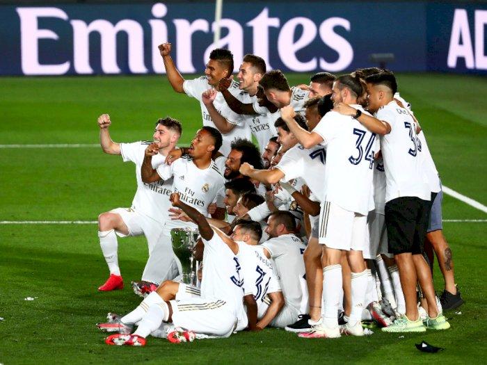 Meski Juara LaLiga, Madrid Tak Jor-Joran Belanja Pemain di Musim Depan