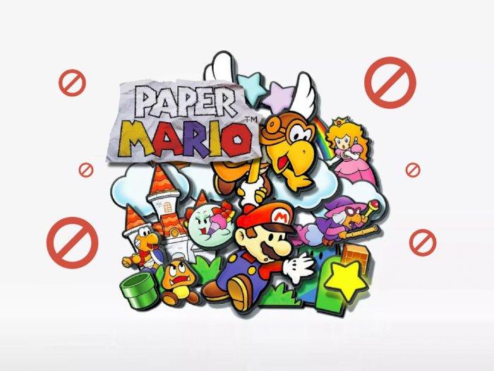 Nintendo Larang Dev. Paper Mario Ciptakan Karakter Baru dari Dunia Mario!