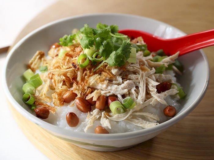 Resep Bubur Ayam Buat Sarapan di Minggu Pagi