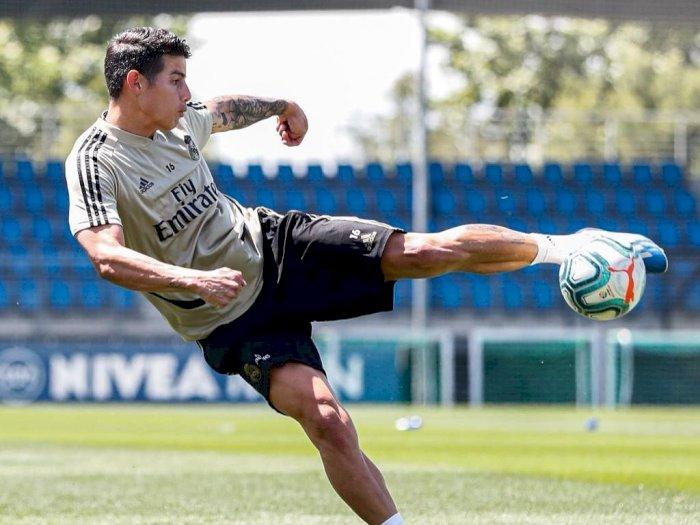 Legenda Madrid Ini Yakin James Rodriguez Akan Tetap Bersinar