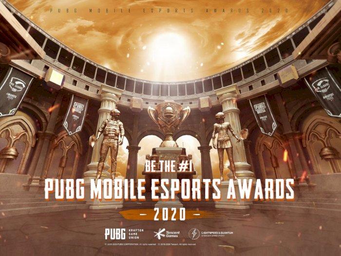 Tencent Games Gelar PUBG Mobile Esports Awards untuk Apresiasi Pemain PUBGM Profesional