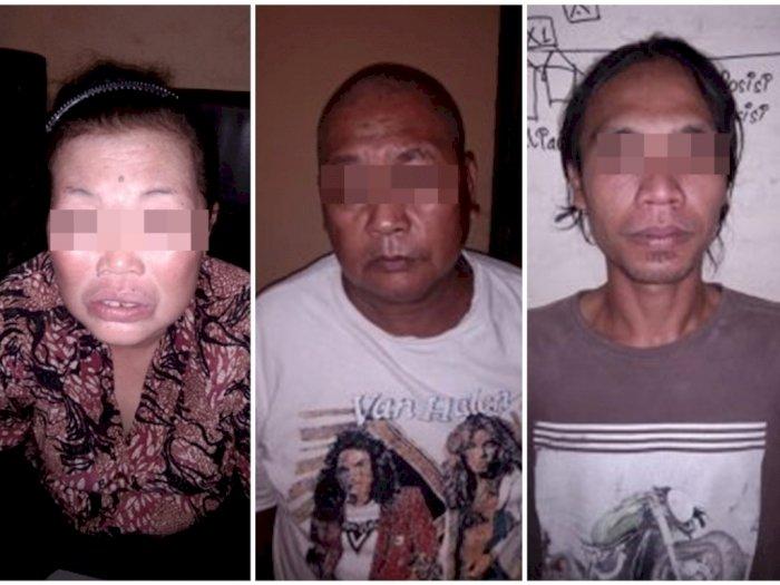 Satu Keluarga di Sergai, Bapak, Ibu dan Anak, Ditangkap dengan Tuduhan Pengedar Narkoba