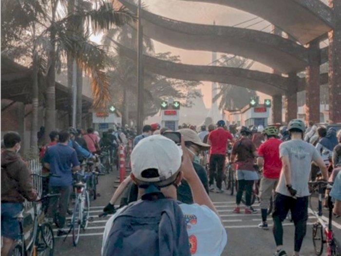 Car Free Day saat Pandemi di DKI, Warga Manfaatkan untuk Bersepeda dan Jalan Kaki