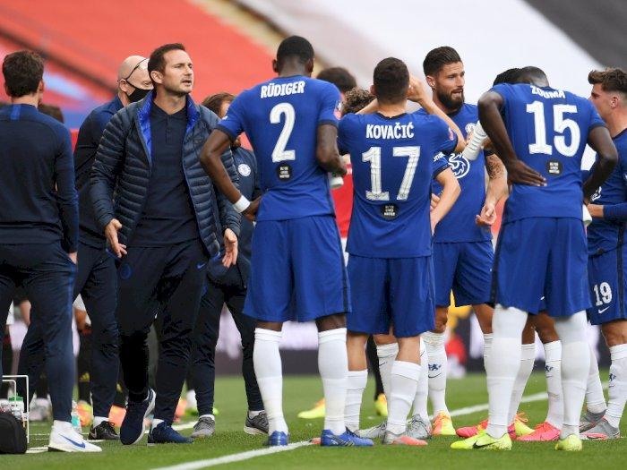 Lolos ke Final Piala FA Usai Tekuk MU, Lampard Mengaku Bangga dengan Timnya