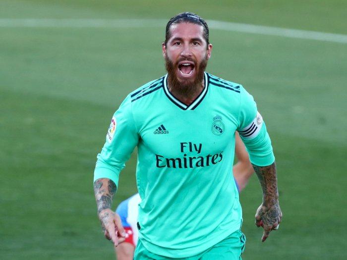 Sergio Ramos Catat Rekor di Laga Leganes Lawan Real Madrid