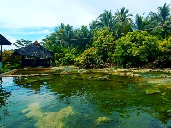 Keunikan Pemandian Air Panas Aek Milas Hutaraja di Mandailing Natal