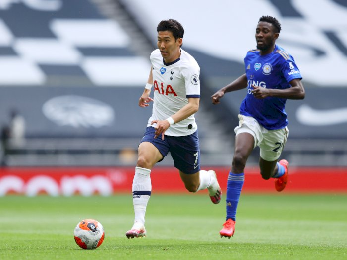 FOTO: Tottenham Hotspur Tekuk Leicester City 3-0