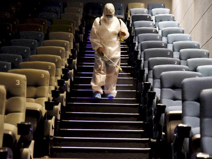 FOTO: Bioskop di Tiongkok Kembali Dibuka