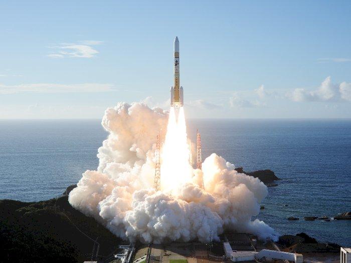FOTO: Pertama Kalinya Uni Emirat Arab Luncurkan Roket ke Mars