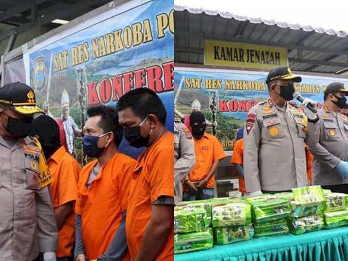 Dua Jaringan Pengedar Sabu-sabu Seberat 55 Kg Ditangkap, Dua Terduga Pelaku Tewas