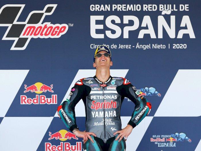 FOTO: Fabio Quartararo Juara Seri Pembuka MotoGP Spanyol 2020