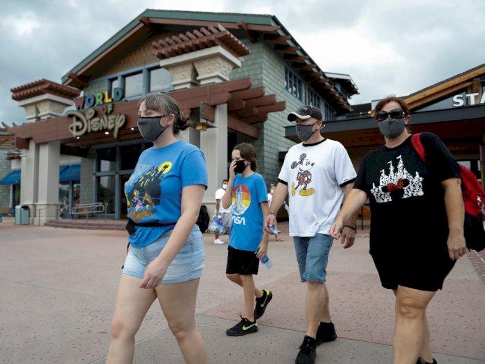 Disney World Perbarui Kebijakan Pengunjung Pakai Masker