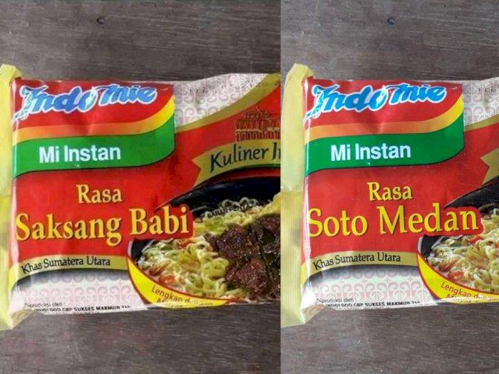 Terungkap, Foto Indomie Rasa Saksang Babi yang Viral Ternyata Rasa Soto Medan