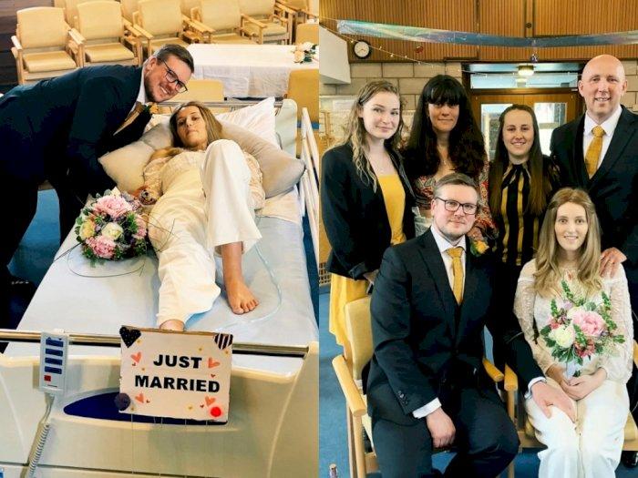 Sebulan Menikah di Rumah Sakit, Perempuan Ini  Meninggal Dunia