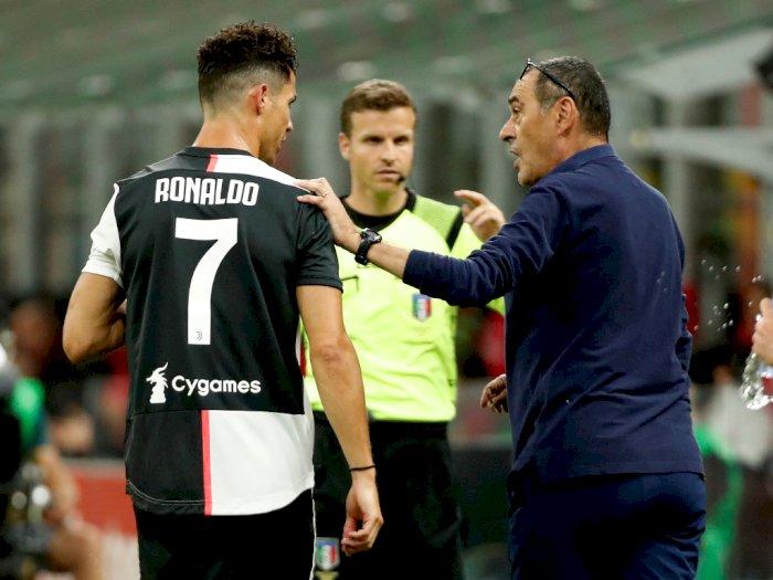 Ronaldo Bikin Rekor Lagi, Sarri: Dia Luar Biasa