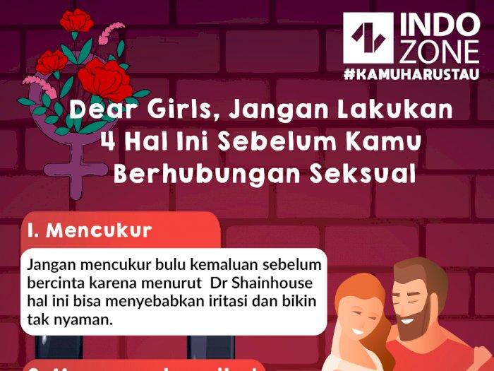 Dear Girls, Jangan Lakukan 4 Hal Ini Sebelum Kamu Berhubungan Seksual