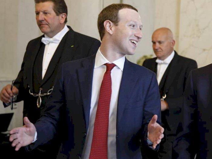 Pakai Sunscreen Terlalu Tebal saat Berselancar, Foto Mark Zuckerberg Bikin Netizen Ngakak