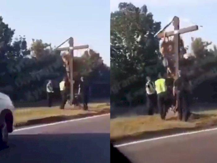 Peragakan Jadi Yesus, Pria di Ukraina Diciduk Polisi