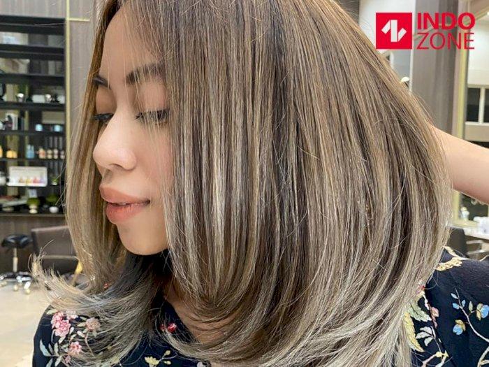 Sambut New Normal dengan Pewarnaan Rambut Alami Airtouch Pertama di Indonesia