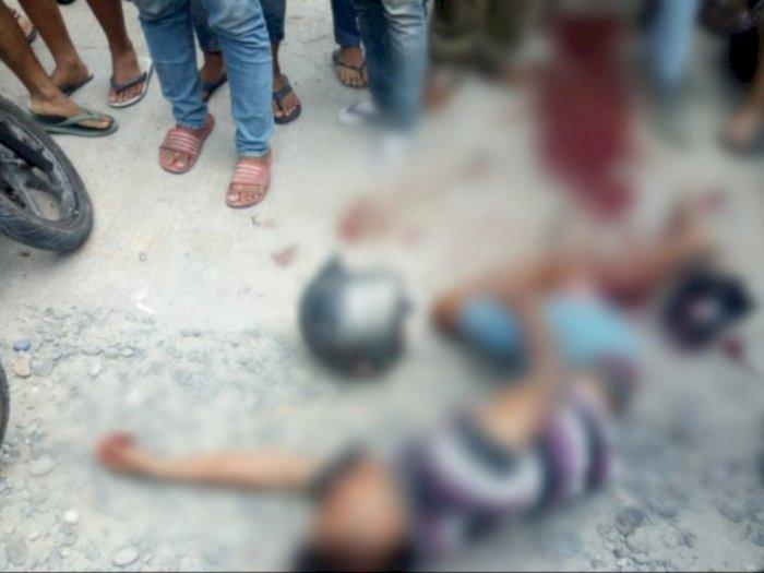 Naas, Saat Beraksi Seorang Jambret Tewas Dipukuli Massa di Medan