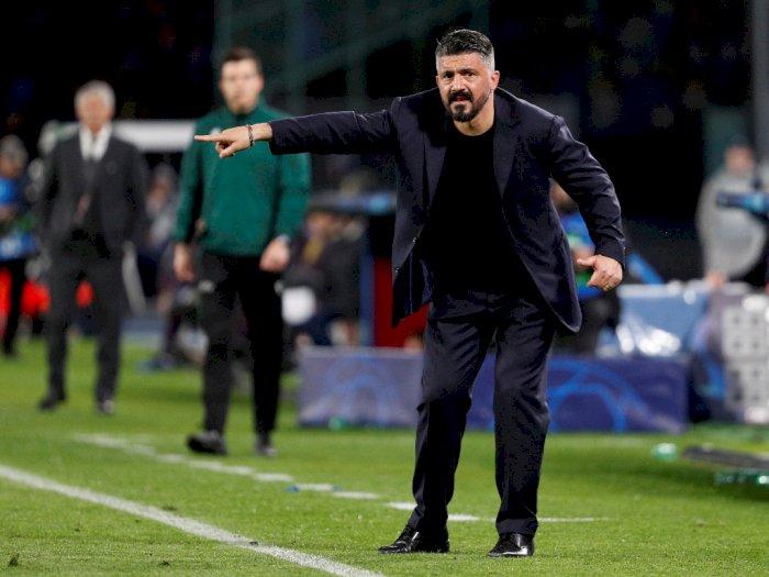 Gattuso Berharap Napoli Bermain Baik Saat Menghadapi Barcelona