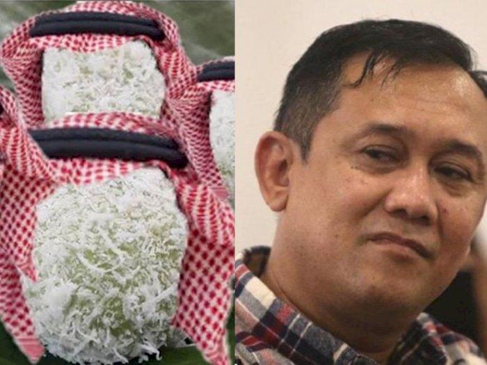 Unggah Foto Kue Pakai Keffiyeh, Denny Siregar: Akhirnya Klepon Hijrah