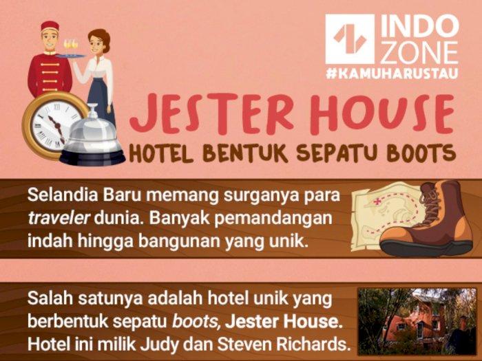 Jester House, Hotel Bentuk Sepatu Boots