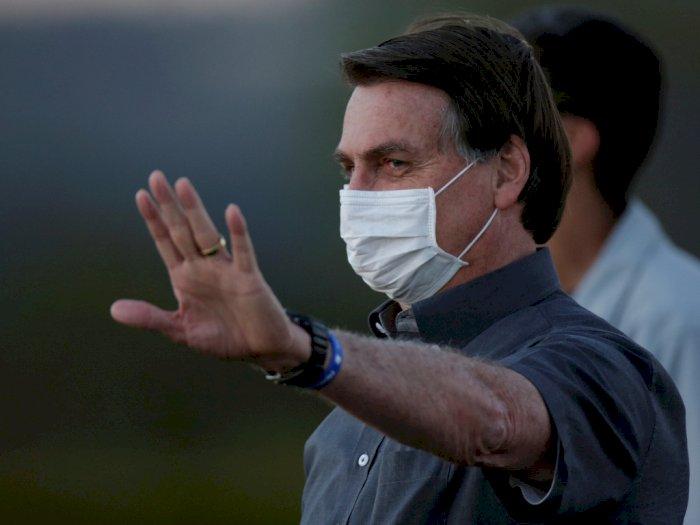 Lakukan Tes ketiga, Presiden Brazil Jair Bolsonaro Masih Dinyatakan Positif Covid-19