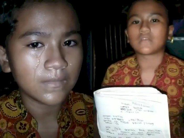 Putus Sekolah Karena Orang Tua Cerai, Bocah Ini Ngadu ke Jokowi: Awak Pengin Sekolah