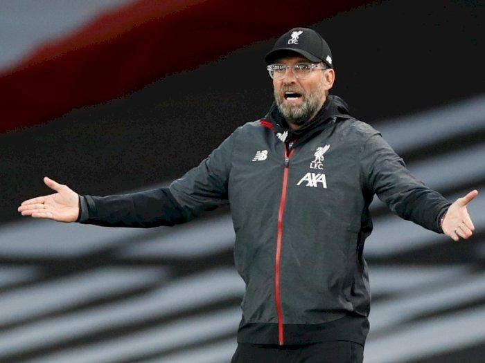 Liverpool Sebentar Lagi Angkat Trofi, Klopp Imbau Fans Tetap di Rumah