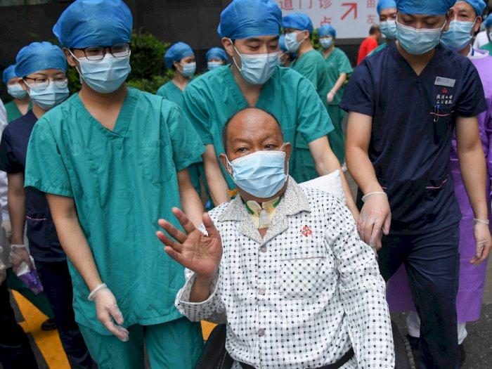 FOTO: Pasien Covid-19 Sembuh Setelah Operasi Transplantasi Paru-paru