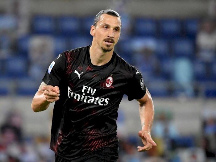 Ibrahimovic : Sejak Kehadiran Saya, AC Milan Layak Berada di Peringkat Kedua Klasemen