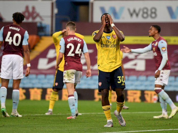 Arsenal Tumbang di Markas Aston Villa