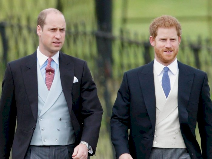 Persaudaraan Pangeran William dan Pangeran Harry Diwarnai Keretakan