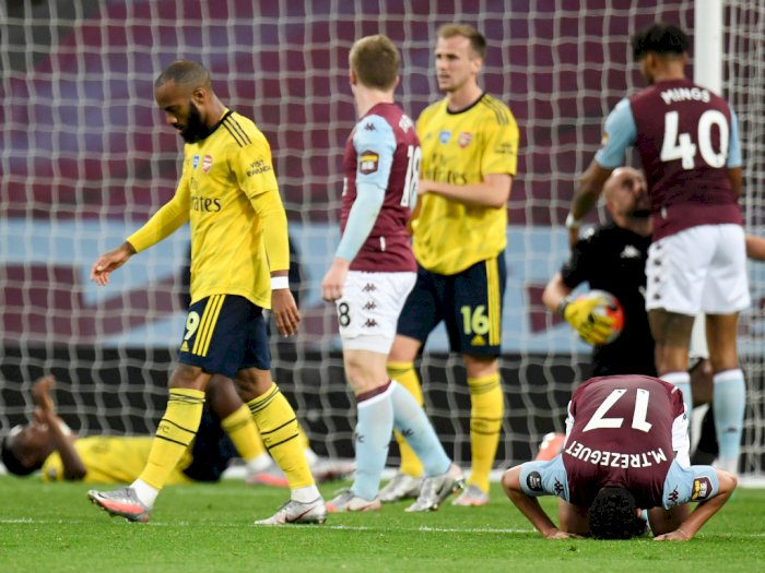 Arsenal Tumbang di Tangan Aston Villa, Ini Kata Arteta