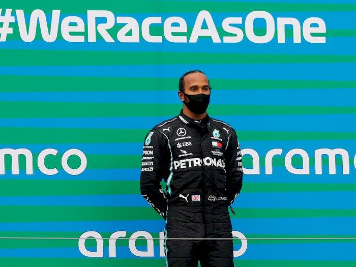 Lewis Hamilton Kritik Pihak Formula 1 Akibat Masalah Isu Rasisme