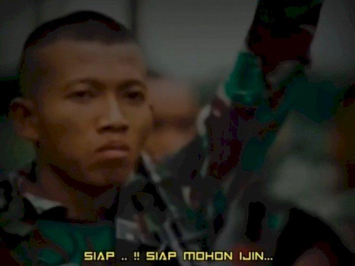 Momen Prajurit Minta Izin Sebelum Tugas untuk Bertemu Pacar, Bikin Komandan Geleng Kepala