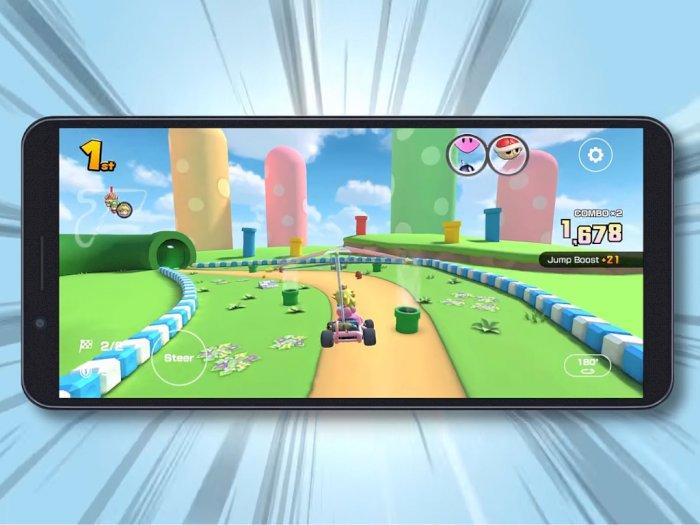 Setelah Sekian Lama, Nintendo Rilis Mode Landscape di Game Mario Kart Tour!