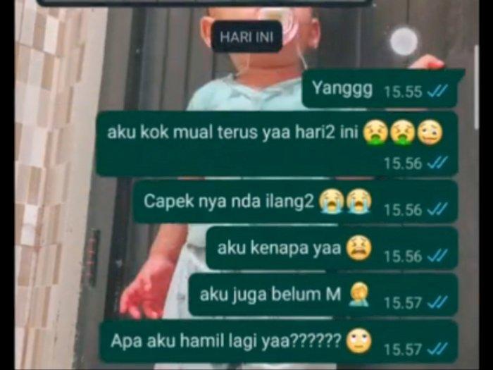 Viral Video Istri Prank Suami Bilang Hamil Lagi, Jawaban Suami di Luar Dugaan