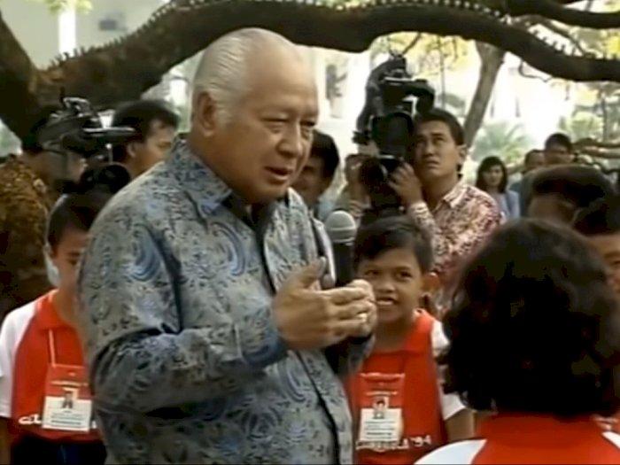 Ditanya Kenapa Presiden Cuma Satu, Soeharto Tanya Balik: Kenapa Kamu Tanya Begitu?