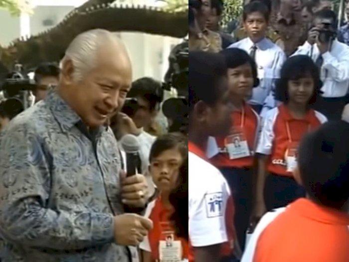 Momen Horor Hari Anak Nasional Zaman Soeharto di Istana Negara