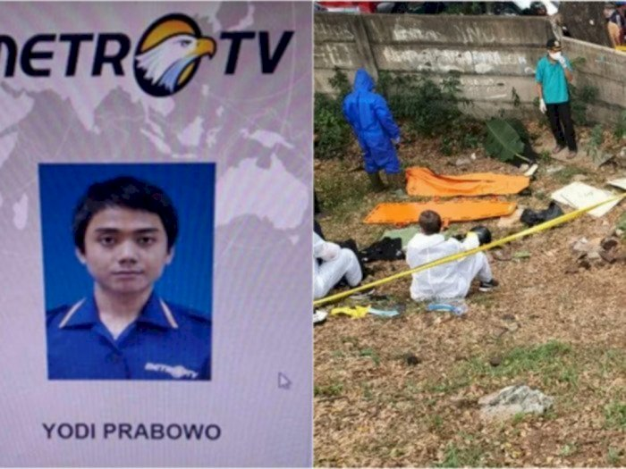 Update Pembunuhan Editor Metro TV :  Yodi Meninggal di Jalur yang Tiap Hari Dilaluinya