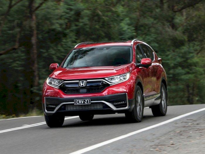 Honda CR-V Anyar Lebih Modern dengan Tambahan Fitur