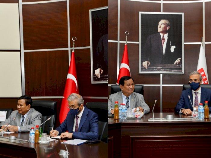 Hagia Sophia Gelar Salat Jumat Perdana, Menhan Prabowo Kunjungi Turki, Ini Tujuannya
